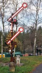 Altes Signal in Oberweißbach
