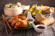 Leinwandbild Motiv asia food