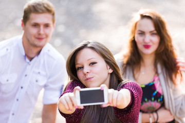 Duckface for the selfie