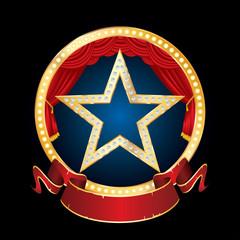 circle stage diamond star