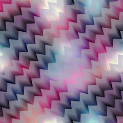 Diagonal chevron on blur background