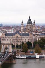Budapest Chain Bridge and St. Stephen's Basilica