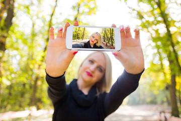 Photographing myself