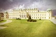 Vienna - Belvedere. Cross processed filtered tone.