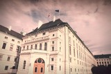Vienna - Hofburg. Cross processed filtered tone.