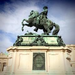 Prince Eugene of Savoy in Vienna, Austria