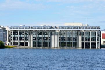 Здание мерии в Рейкьявике