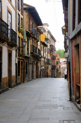 Old Town in the city of Oviedo