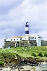 Barra Lighthouse (Farol da Barra) in Salvador, Brazil