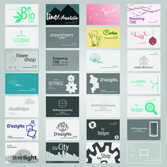 Visit card pack for business