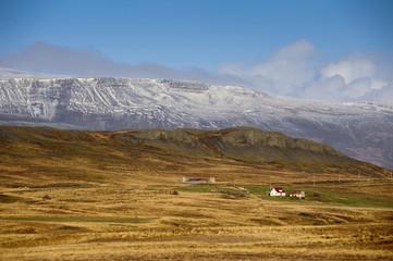 Panorama Mountain celand.