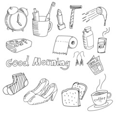 Hand-drawn stuff in the morning