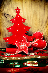 Christmas decorations, vintage style