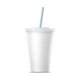 White paper soda cup template.