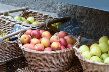 Bowl of coxs apples