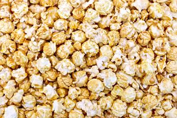 Popcorn caramel texture
