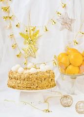 """New Year's pie """" a napoleon """""""