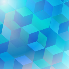 Background abstract Illustration blue