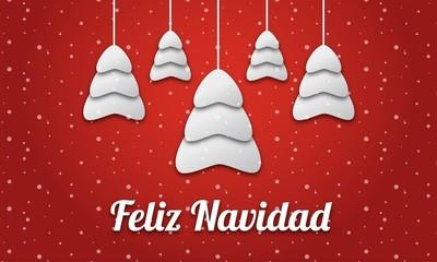 Feliz Navidad Blanca