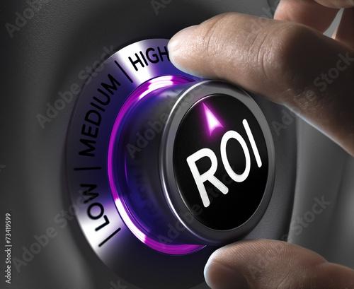 Finance Concept - ROI - 73419599