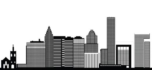 houston city skyline
