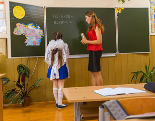 pupil and teacher