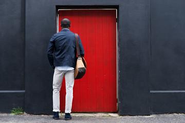 red door man