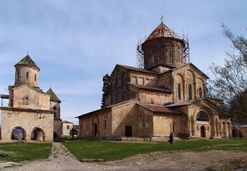 The church near Tbilisi, Georgia