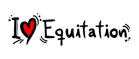 Equitation love