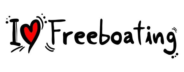 Freeboating love