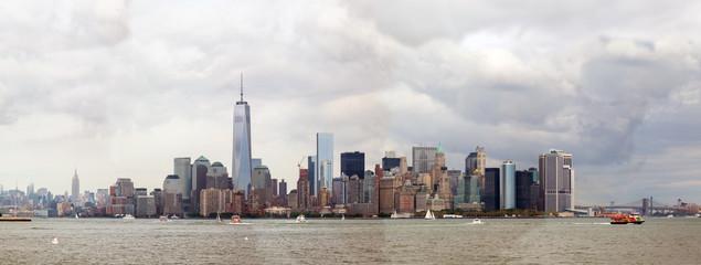 cloudy Manhattan