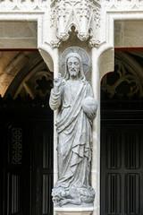 Statue Dieu cathédrale Saint-Corentin