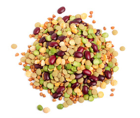Grain and beans.