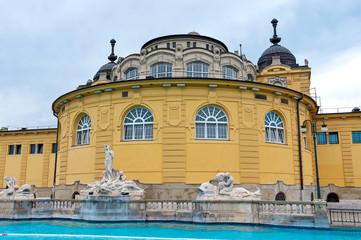 Hungary. Budapest szechenyi bath spa.
