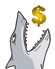 Shark dollar