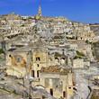 Matera - ancient cave city in Basilicata, Italy
