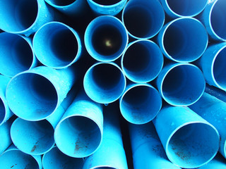 Blue pipe background