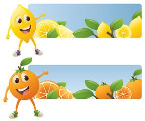 Citrus Banners