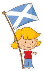 Proud to be Scottish Girl