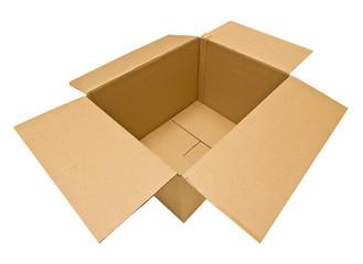 Empty Cardboard Box Two