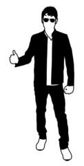 Standing Man Shape