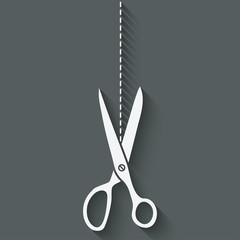 scissors cut symbol