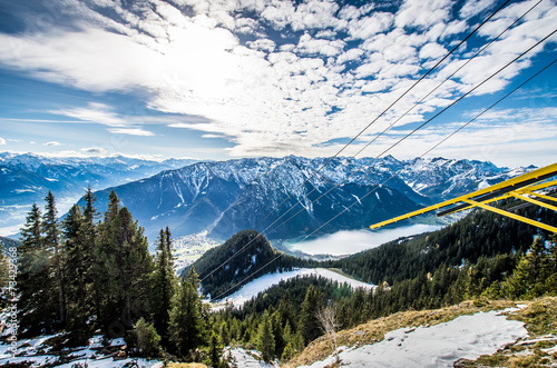 canvas print picture Tirol HDR
