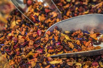 Tea on the market