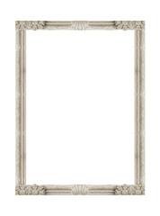 Isolated Ornate Stone Frame
