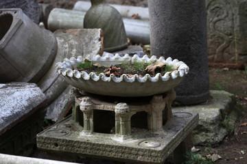Ancient stone vase