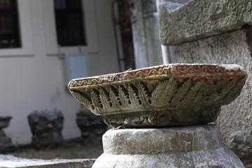 Details of ancient column