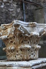 Part of ancient column