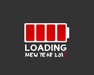 New year 2015 Christmas