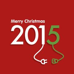2015 christmas design vector illustration